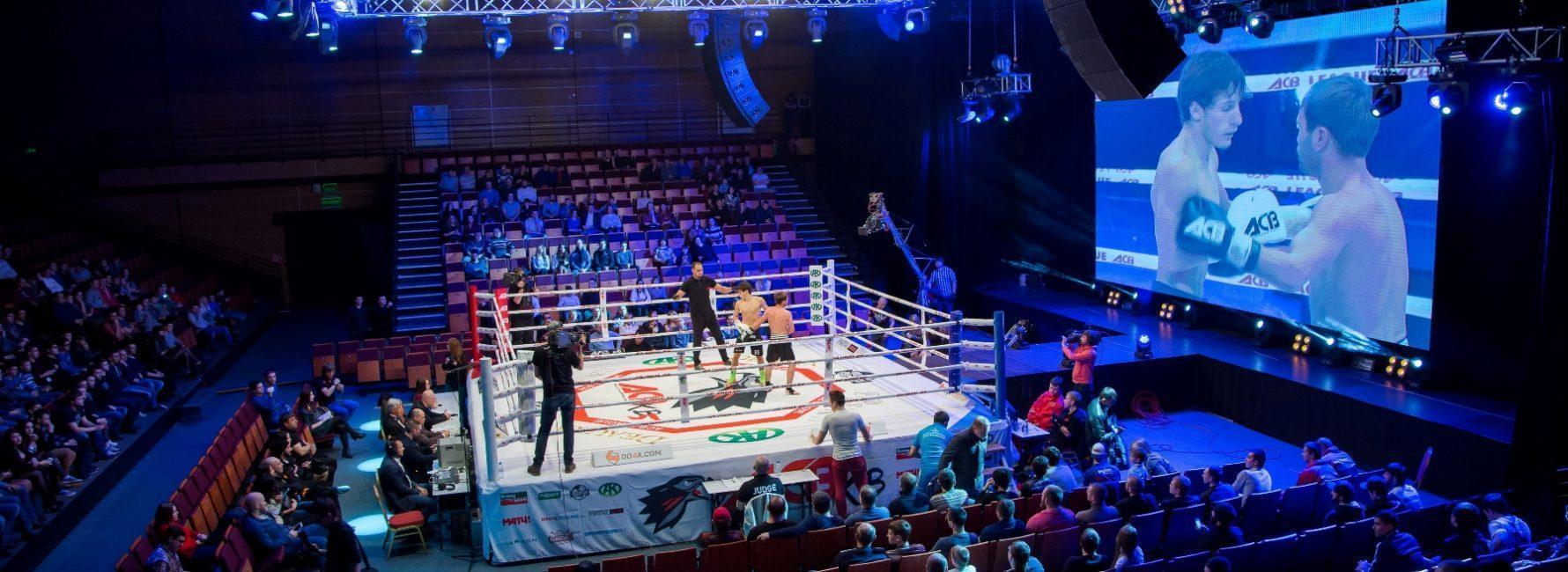 Турниры с установкой ринга